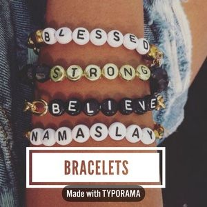 Two for $5 Bead Bracelets
